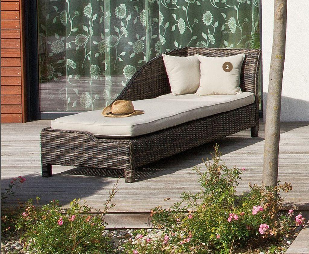 Noblesse pihenő ágy párnákkal - Kanapék - Kerti bútor webáruház