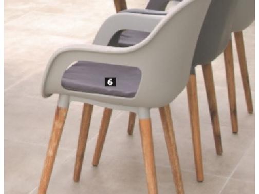 Párna a Charles székekhez - Párna kerti bútorokra - Kerti bútor ... 2ced4508bd