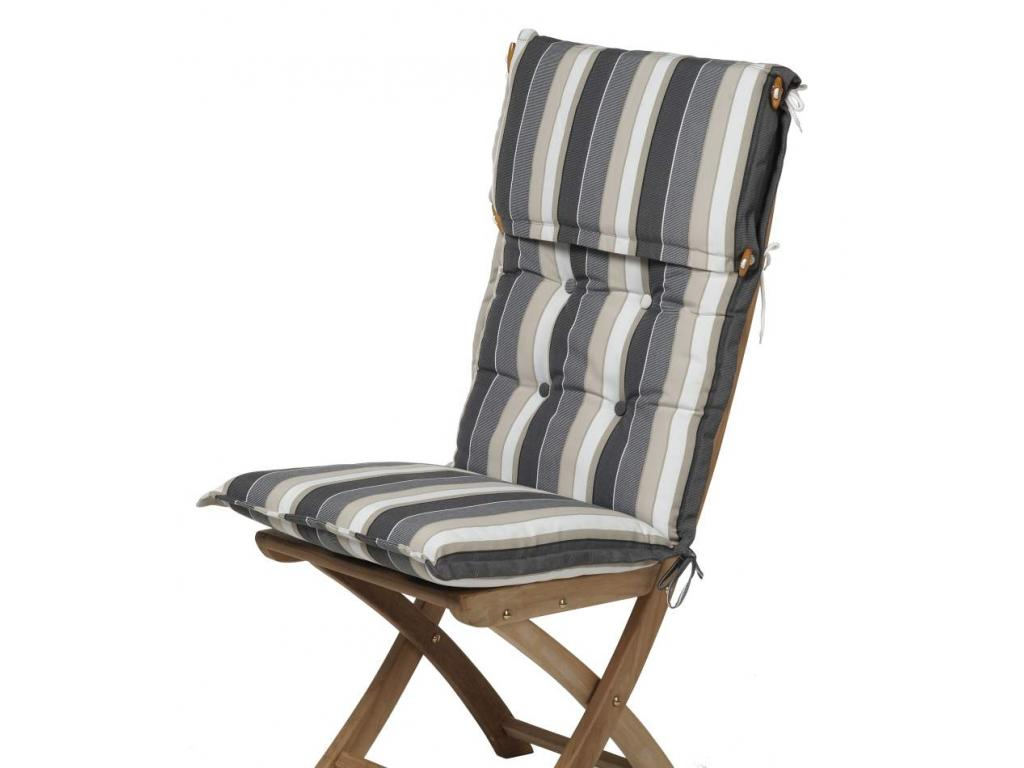 Ülőpárna prémium minőségű szürke bécs csíkos Metz 116x50x8 cm-es ... c6a3a97d07