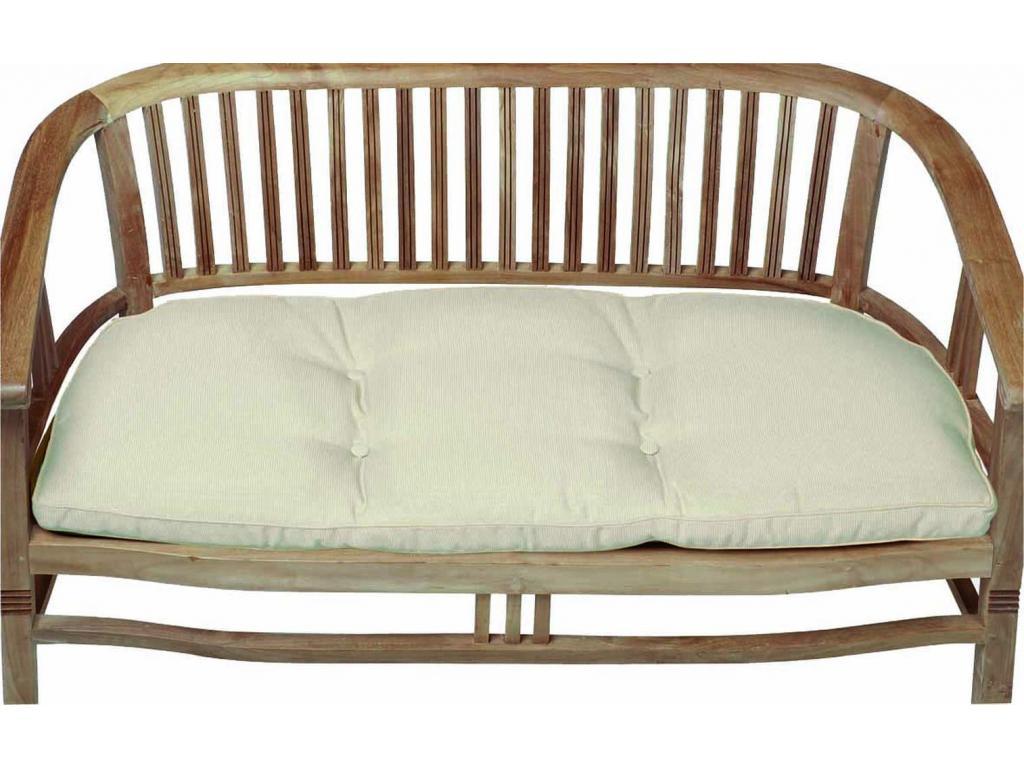 Ülőpárna padra prémium minőségű natúr színű Lyon 110x50x6 cm-es ... 0e83204d68