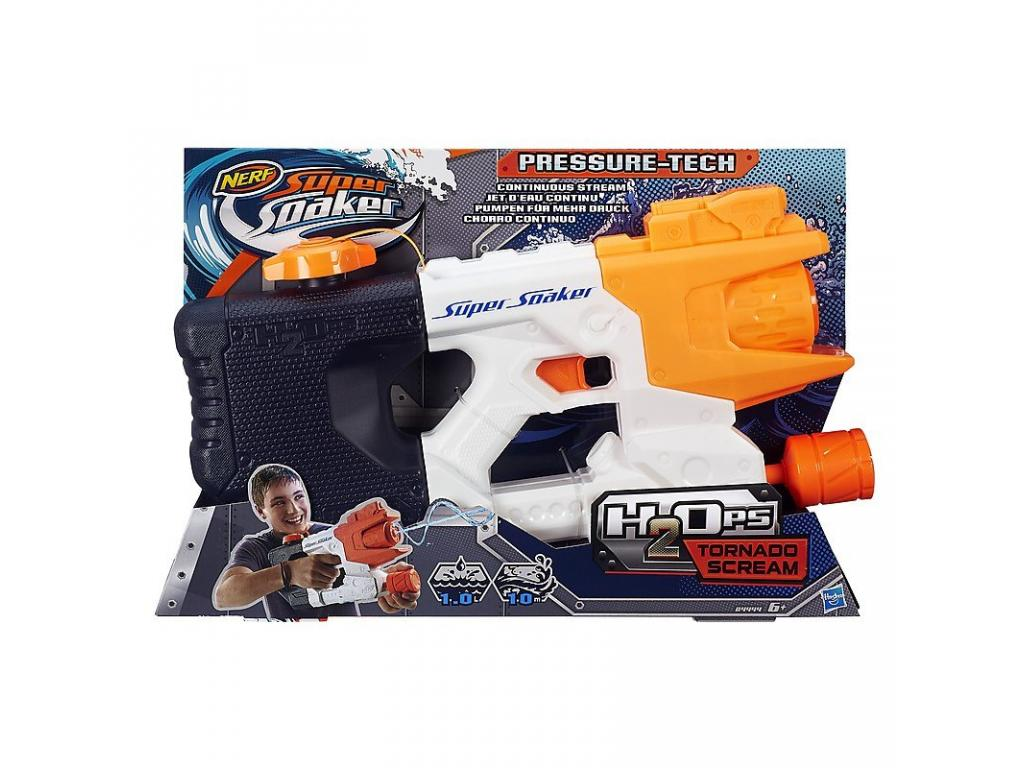 Super Soaker H2Ops Tornado Scream - vízipisztoly