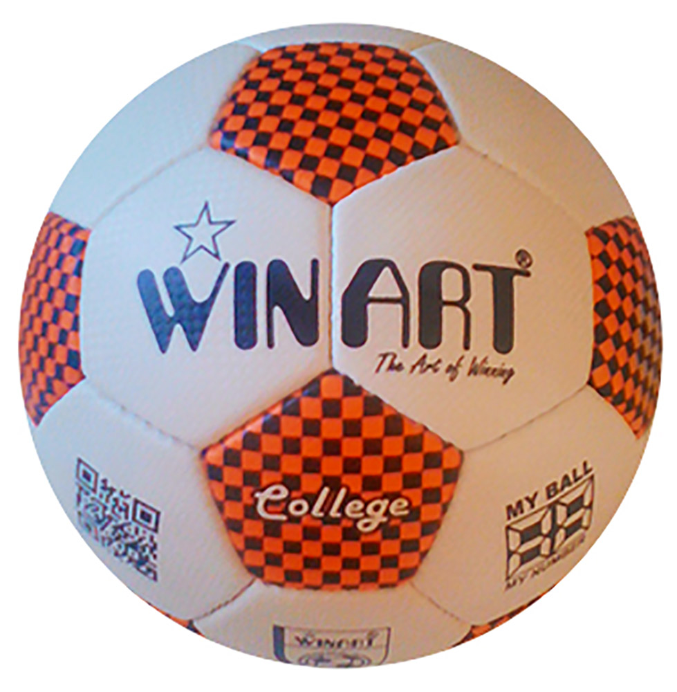 Winart College futball labda No. 5 orange /black