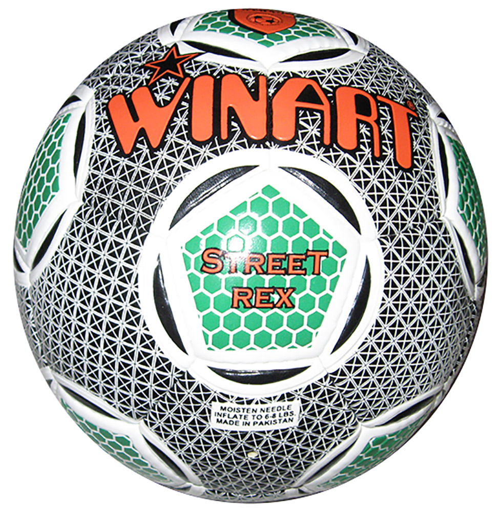 Winart Street Rex futball labda No. 5. green /orange