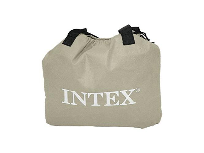 INTEX Deluxe Pillow Rest Raised Twin felfújható vendégágy, 191 x 99 x 42 cm, 230V