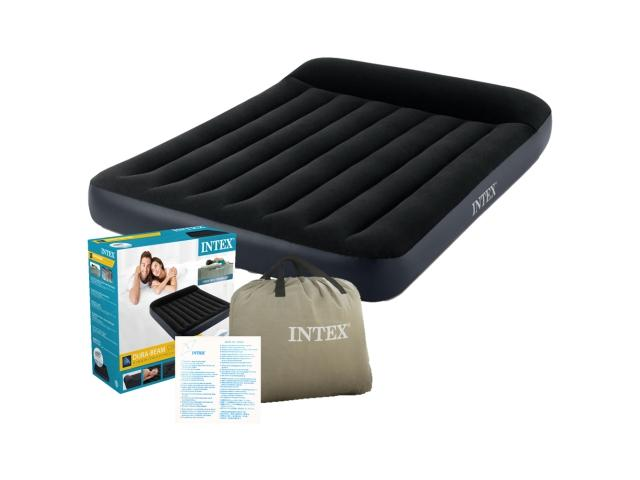 Intex: Queen Pillow Rest Classic felfújható matracágy szett 152x203cm