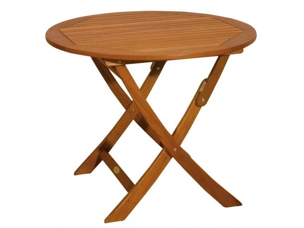 STOCKHOLM összecsukható, kerek asztal, O90 cm - Asztalok - Kerti ...