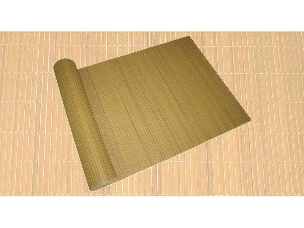 Szélfogó és belátásgátló teraszra bambusz színu 500 90 cm-es ... ba86adce50
