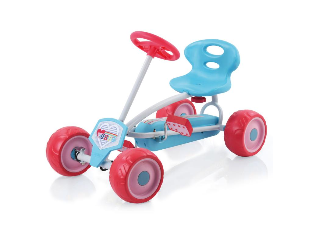 Mini Turbo Gokart, pink - Hauck